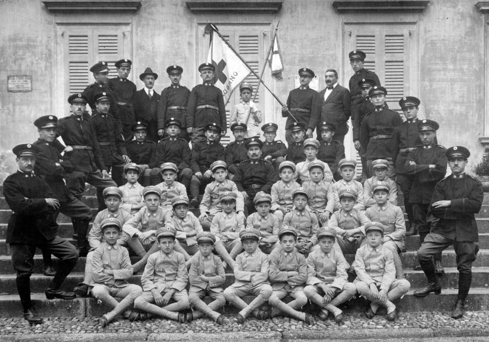 1920 - Militi e cadetti. Dono Elisa Primavesi