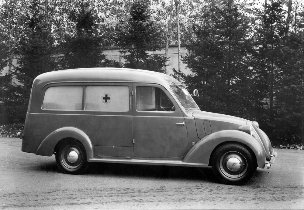 1930 - Fiat Balilla, Garage Morel
