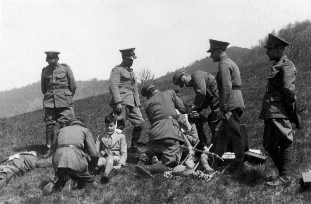 1930 - Esercitazione sul Monte Brè