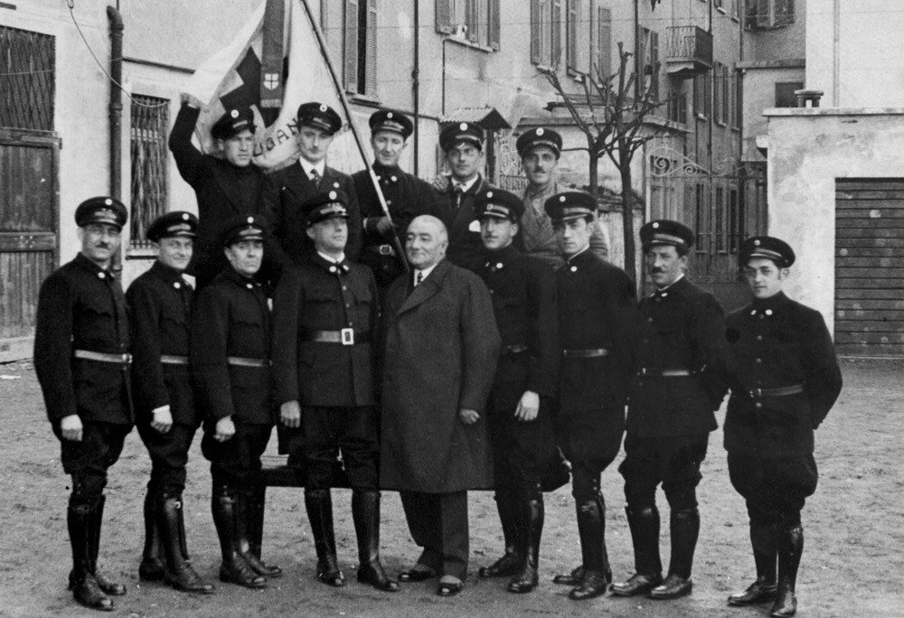 1935 - Militi, concessione Arnaldo Negri