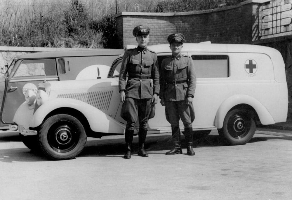 1940 ca. - I militi Maccanelli e Cantoreggi
