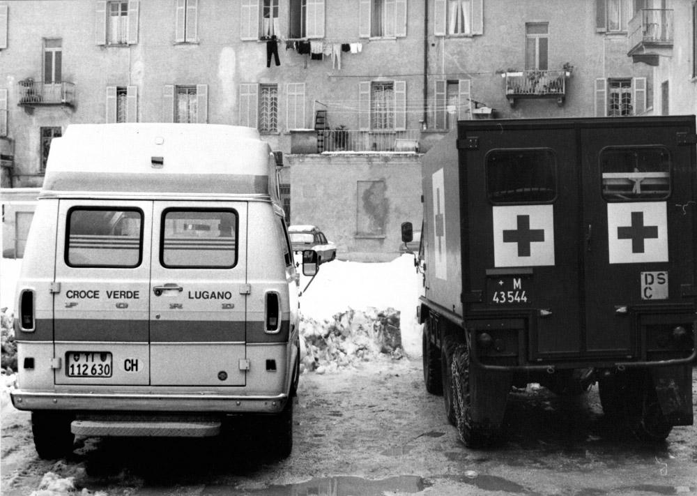 1970/80 - Veicoli al Quartiere Maghetti