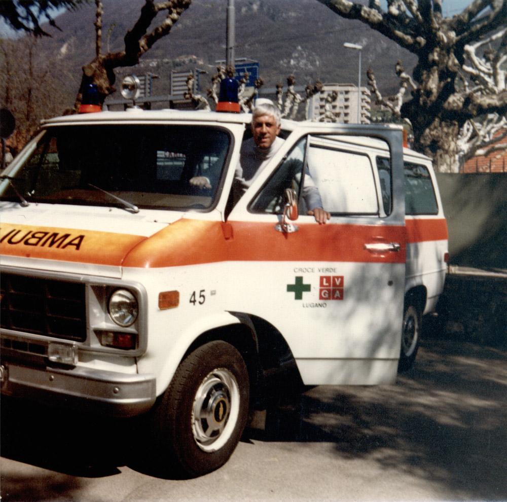 1982 - Il soccorritore Ivo Pagnamenta