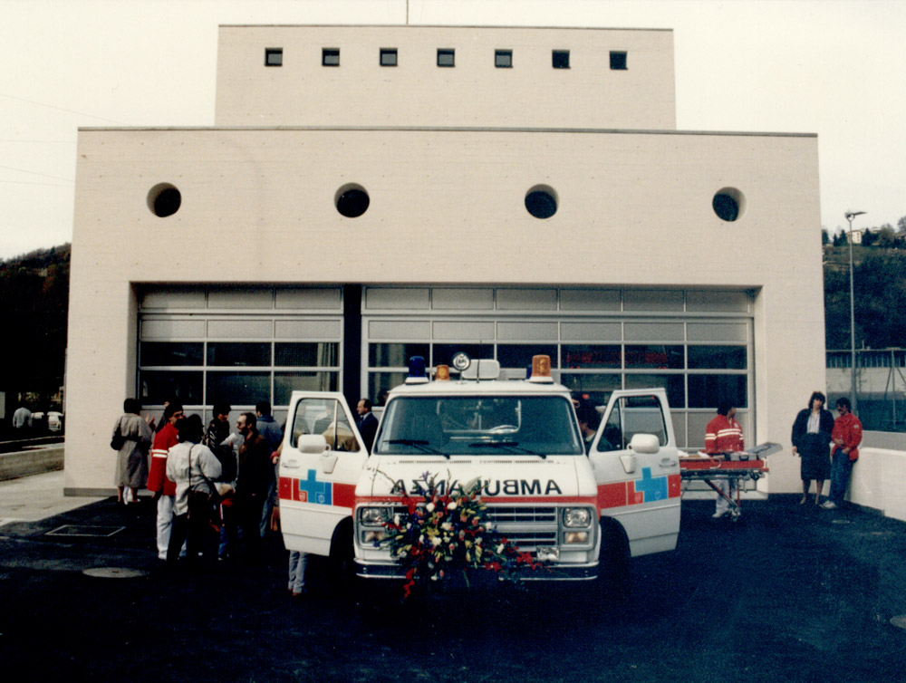 1987 - Inaugurazione della sede di Pregassona