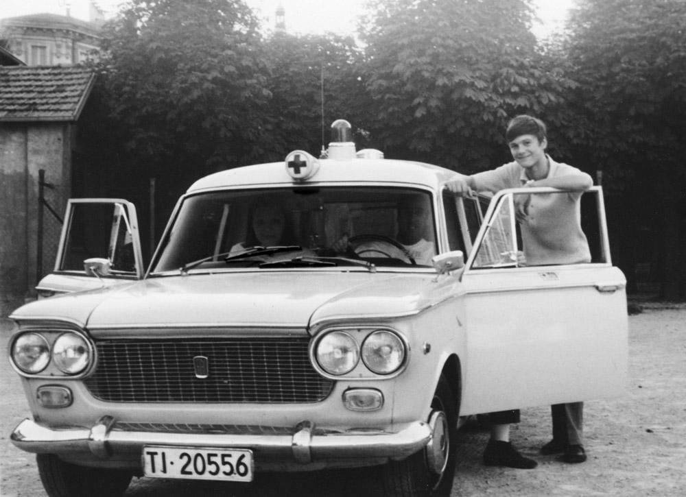 1975 - Daniel Geiser inizia la sua ultra quarantennale carriera di volontario Croce Verde Lugano