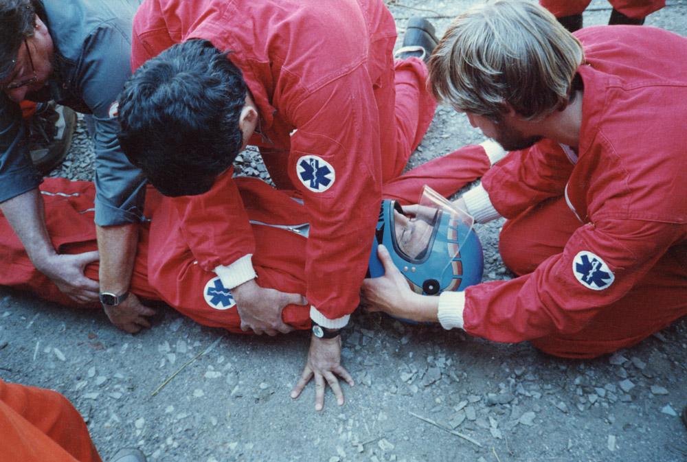 1992 - Esercitazione del Gruppo Tecnico di Soccorso