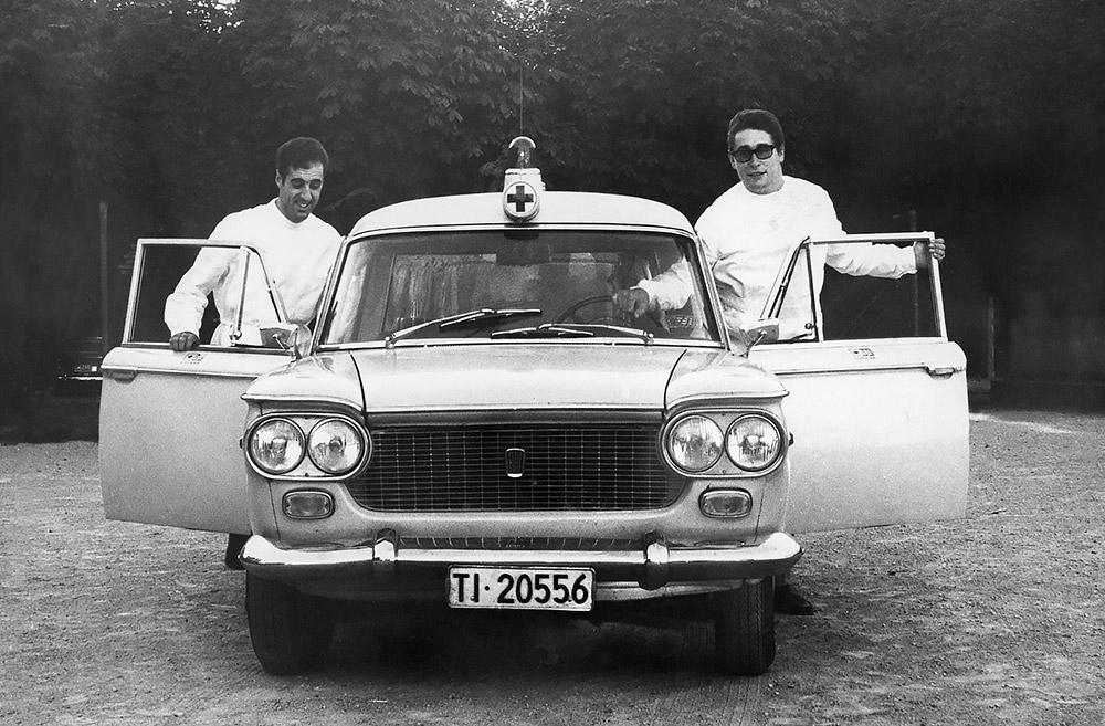 1970 - I militi Pierluigi Galeazzi e Ivano Guggiari