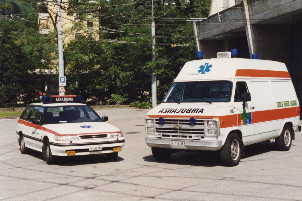 1990 - Cardiomobile e autoambulanza