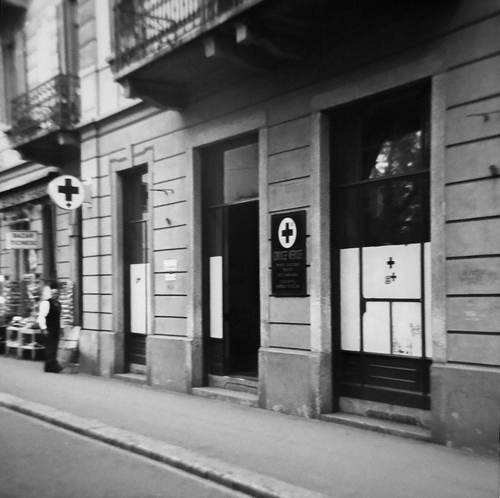 1966 - Sede CVL al Quartiere Maghetti: entrata da Piazza Indipendenza