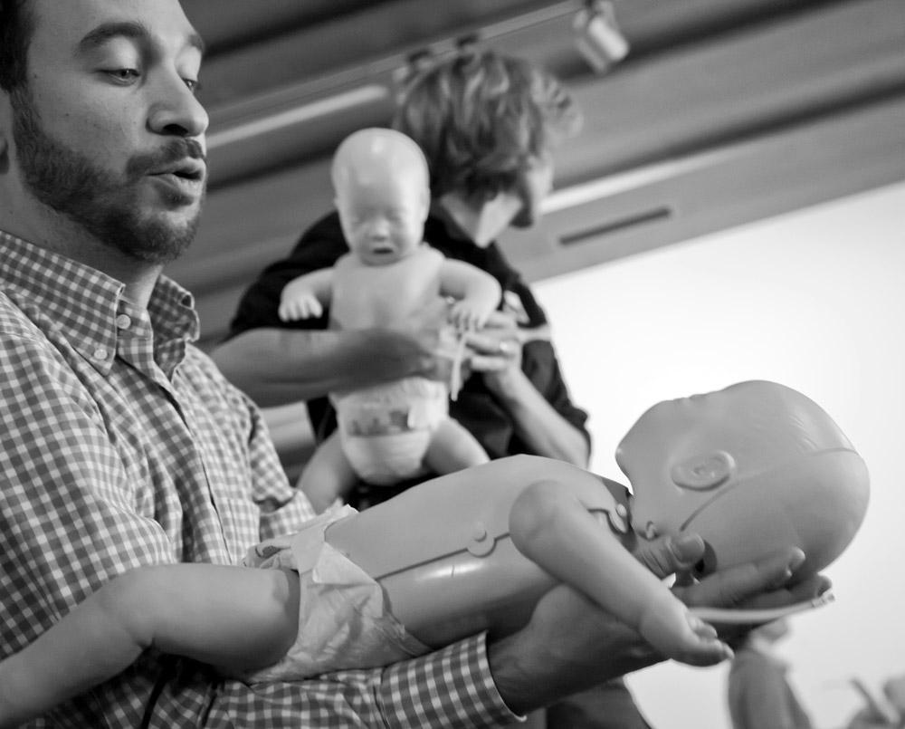 2015 - Comano, Corso BLS-DAE con modulo Emergenze Pediatriche