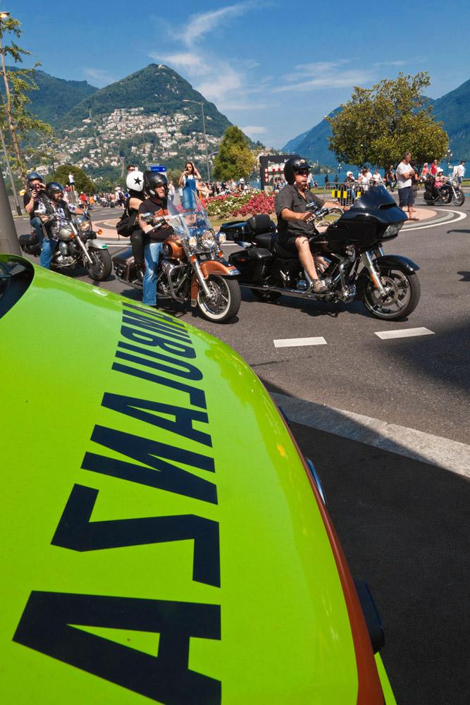 Luglio 2015 - Swiss Harley Days a Lugano