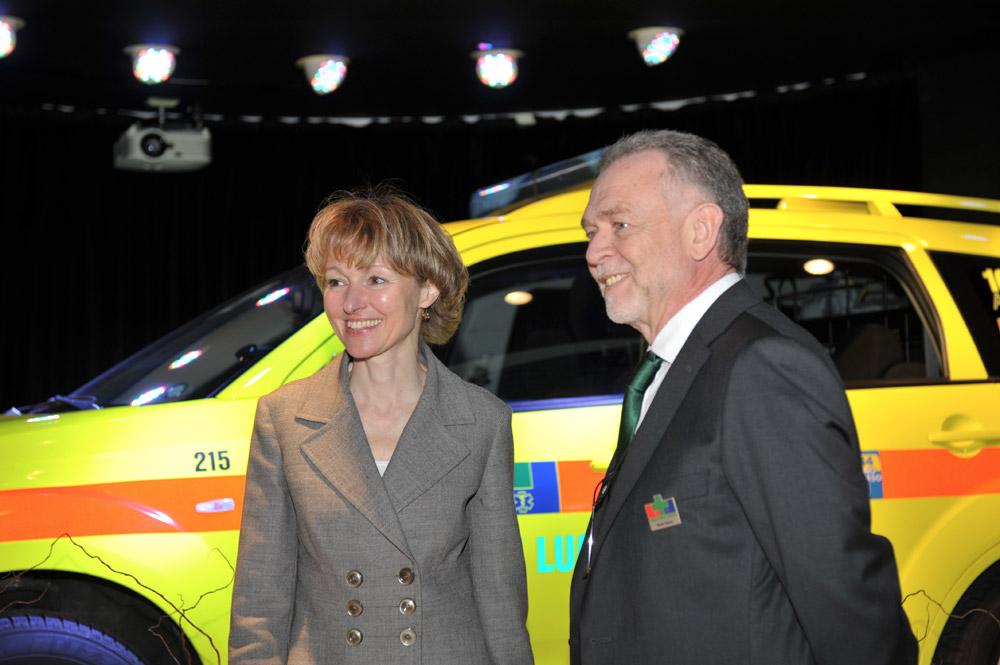 3 marzo 2010 - L'onorevole Patrizia Pesenti e il Direttore Carlo Casso