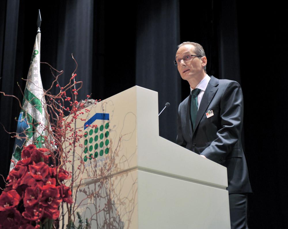 1. gennaio 2010 - Palazzo dei Congressi, Il discorso ufficiale del Presidente Romano Mauri